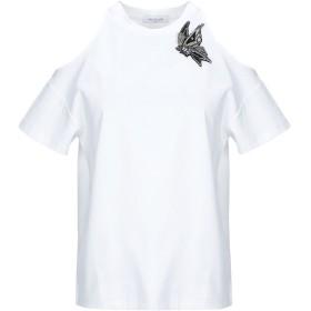 《期間限定セール開催中!》MUGLER レディース T シャツ ホワイト S コットン 100%