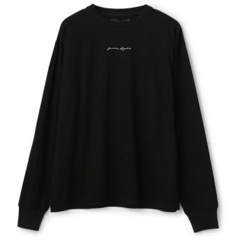 YOSHIKI SUZUKI×ESTNATION / フォトグラフィックロングスリーブTシャツ ブラック系その他/LARGE(エストネーション)◆メンズ Tシャツ/カットソー