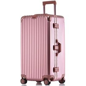 IPO スーツケース ドイツ品質 PC+ABS TSAロック 旅行カバン 旅行キャリー アルミ合金 軽量 静音 防水 人気 ハードケース チッキで送る 双輪キャスター 1-12泊 5サイズ 4色展開