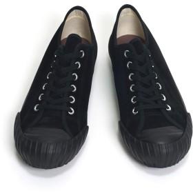 [クッシュマン] 29213S WW2 Low-Cut Suede Sneaker / WW2 ローカット スエードスニーカー サイズ9(27cm) ブラック