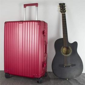旅行スーツケース-荷物、トロリーケース、税関ロックパスワード搭乗、キャスター服保護バッグ