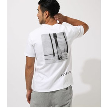 【AZUL by moussy:トップス】【MEN'S】ATTRIBUTE PHOTO TEE