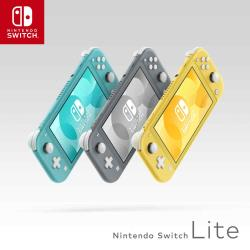 任天堂 Nintendo Switch Lite 主機(台灣公司貨) 黃/灰/藍綠