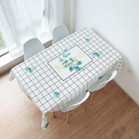 防水防汚テーブルクロスファミリーレストランホテルポリエステル装飾テーブルリネンホワイト (Size : 85×85cm)
