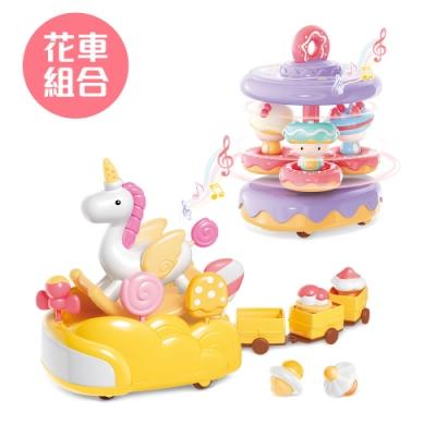 【Mini Candy】糖果計劃花車系列 - 冰淇淋+甜甜圈