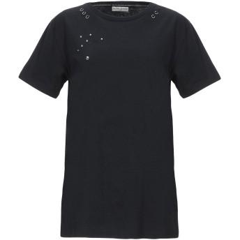 《セール開催中》EACH X OTHER レディース T シャツ ブラック S コットン 100%