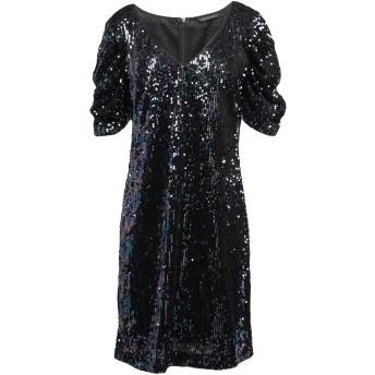 《セール開催中》ARMANI EXCHANGE レディース ミニワンピース&ドレス ブラック 6 ポリエステル 100% / ポリエチレン