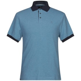 《セール開催中》HACKETT メンズ ポロシャツ アジュールブルー S コットン 92% / ポリウレタン 8%