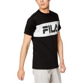 [フィラ] 半袖Tシャツ 419302 メンズ BK 日本 L (日本サイズL相当) [並行輸入品]