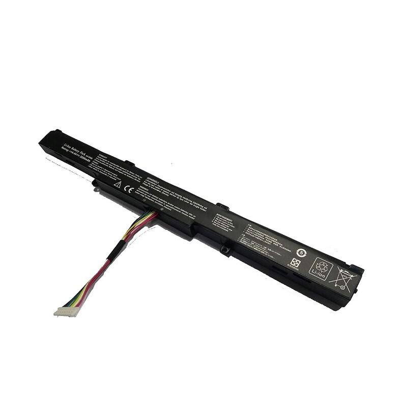 asus k550d電池 f450 華碩x751m x751l x751電池