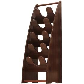 スリッパラック 5段 WNT-68 幅26 高さ68 おしゃれ スリム 木製