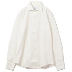 [マルイ] SD: 【ALBINI社製生地】 ヘリンボーン ジャージー ワンピースカラー シャツ/シップス(メンズ)(SHIPS)