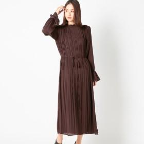 [マルイ] 柄細プリーツボトルワンピース/アンレリッシュ(UNRELISH)