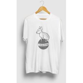 マーラの旅 動物イラストTシャツ テンジクネズミ
