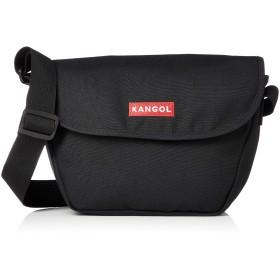 [カンゴール] ショルダーバッグ(タウン用) KANGOLボックスロゴ刺繍 メッセンジャーバッグ レッド