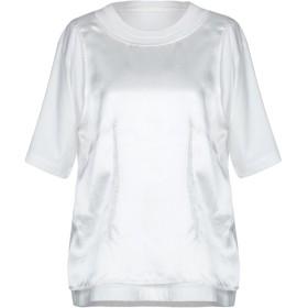 《期間限定セール開催中!》MM6 MAISON MARGIELA レディース T シャツ ホワイト S コットン 100%