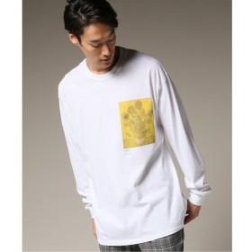 【エディフィス/EDIFICE】 SUNFLOWER ロングスリーブ Tシャツ