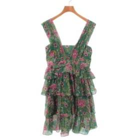 N°21 / ヌメロヴェントゥーノ レディース ワンピース 色:緑xピンク等(花柄) サイズ:38(S位)