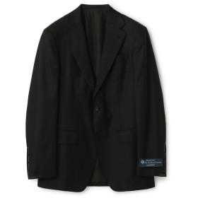 ESTNATION / LORO PIANA RAIN SYSTEM ソリッド3釦スーツ ブラック/44(エストネーション)◆メンズ セットアップ