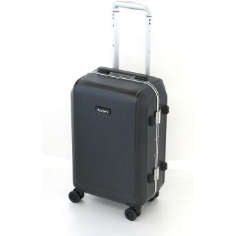 [アントラー] CARRINGTON スーツケース キャリントン 32L 軽量 小型 機内持ち込み 双輪キャスター 大径50㎜オイル封入キャスター ヒノモトキャスター 保証付 55 cm 3kg ブラック