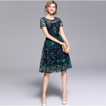 結婚式 ドレス お呼ばれ ワンピース 30代 20代 40代 パーティードレス 結婚式二次会 お呼ばれドレス ワンピースドレス K236