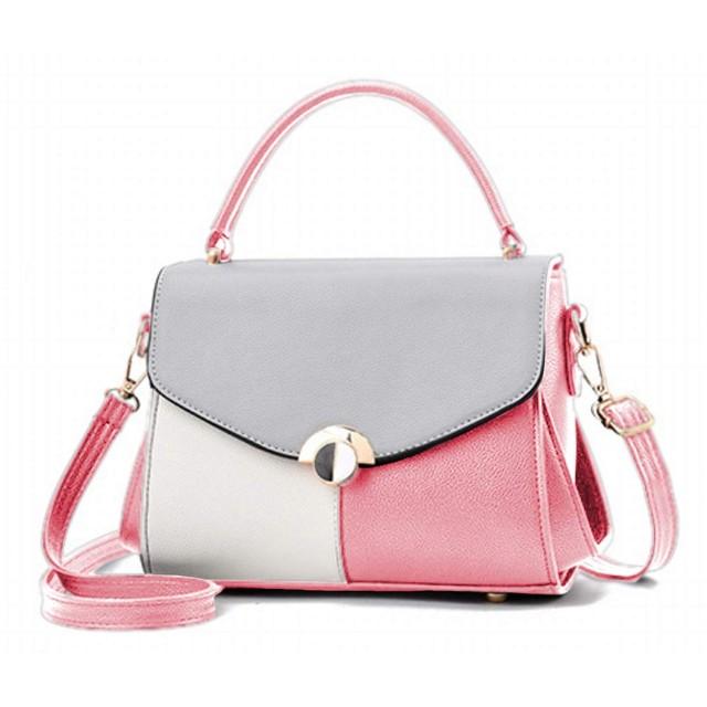 [ヴォレ] ミニショルダーバック レディース ハンドバッグ 女性用 肩掛け ミニトートバッグ 2way ピンク