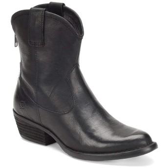 [ボーン] レディース ブーツ&レインブーツ Wynd Leather Western Stacked Block Heel [並行輸入品]