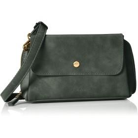[レガートラルゴ] お財布ショルダーバッグ LG-P0104 ポリッシュフェイクレザーお財布ショルダー ダークグリーン