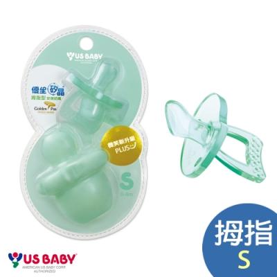 【優生】 矽晶 安撫奶嘴升級版(拇指綠-S/L)-任