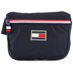 TOMMY HILFIGER トミー ヒルフィガー ボディバッグ TC090EX9 TH-826 EXCUSION 男女兼用 ウエストバッグ TOMMY NAVY トミーネイビー