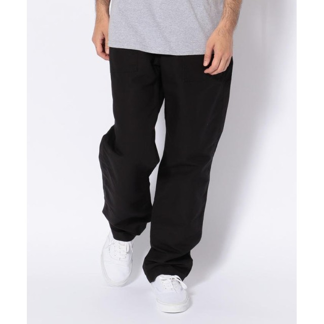アンカットバウンド fatigue pant cotton double cloth/Engineered Garments(エンジニアド ガーメンツ) メンズ BLACK 32 【UNCUT BOUND】