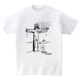 [10色]BANDLINE(バンドライン) Daniel Johnston ダニエル ジョンストン バンド ロック パンク メタル 半袖Tシャツ ホワイト Mサイズ