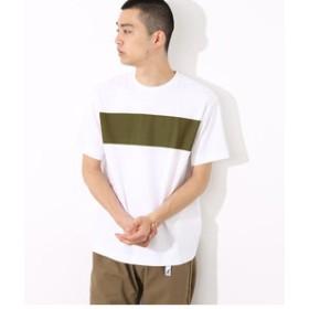 【ADAM ET ROPE':トップス】ポンチラインプリントTシャツ