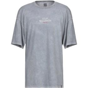 《期間限定セール開催中!》HUF メンズ T シャツ グレー XL コットン 100%