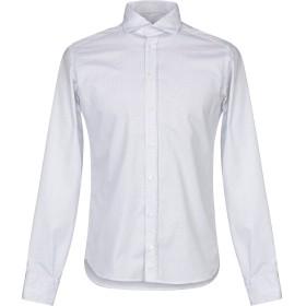 《セール開催中》EXIBIT メンズ シャツ ホワイト S コットン 100%
