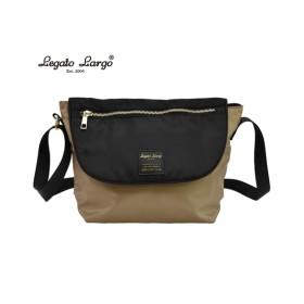 Legato Largo(レガートラルゴ)リール付はっ水メッセンジャーバッグ ショルダーバッグ・斜め掛けバッグ