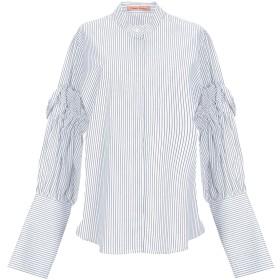 《セール開催中》MAGGIE MARILYN レディース シャツ ホワイト 10 コットン 100%