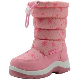 UBELLA スノーブーツ キッズ ブーツ 女の子 ロングブーツ 長靴 調節でき 防水 防寒 保温 雪 スキー ジュニア 学生 秋冬