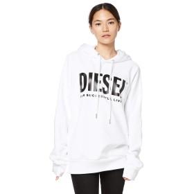 (ディーゼル) DIESEL レディース DIESEL レギュラーフィット スウェット パーカー 00SCDW0BAWT L ホワイト 100