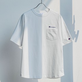 UNITED ARROWS green label relaxing:MEN'S(ユナイテッドアローズ グリーンレーベル リラクシング)/別注 [チャンピオン] SC CHAMPION GLR ラグラン ロゴ 5分袖 / Tシャツ