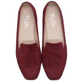 [Kayiyasu]パンプス レディース フラットシューズ ローファー ローヒール ぺたんこ 通勤シューズ 婦人靴 大きいサイズ 014-xz-01(41 ワイン)