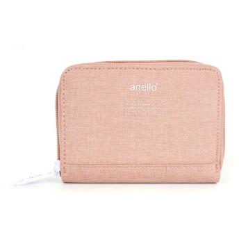 anello レディース 財布 二つ折り 小銭入れ コンパクト (ヌードピンク) [並行輸入品]