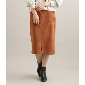 ViS(ビス)/ライトエコスエードタイトスカート