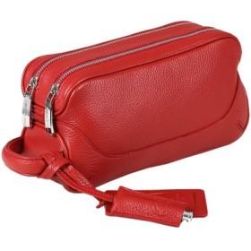 (Bag & Luggage SELECTION/カバンのセレクション)ペッレモルビダ PELLE MORBIDA クラッチバッグ レザー メンズ メイデンボヤージュ Maiden Voyage MB028/ユニセックス レッド