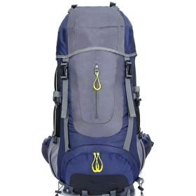 登山バッグ レジャーキャンプハイキングバッグ70 Lプロ登山バックパック大容量屋外登山バッグ 使用範囲が広くて (色 : 紫の, サイズ : 70L)