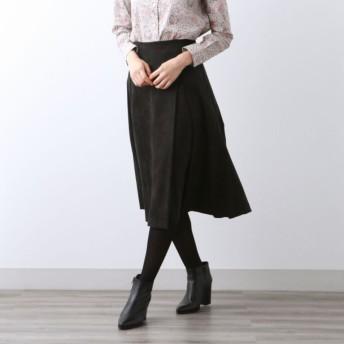 SALE【アマカ(AMACA)】 エルモザ スカート ブラック