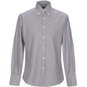 《期間限定セール開催中!》BRUNELLO CUCINELLI メンズ シャツ ダークブルー S コットン 100%