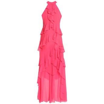 《セール開催中》BADGLEY MISCHKA レディース ロングワンピース&ドレス フューシャ 2 ポリエステル 100%