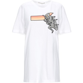 《期間限定セール開催中!》MARCO DE VINCENZO レディース T シャツ ホワイト M コットン 100% / ポリエステル