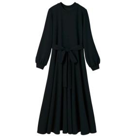 [マルイ] リボン付フレアーシルエットカットソーワンピース/ジーラ バイ リュリュ(ファッション)(GeeRA (fashion))